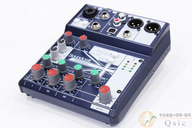 Soundcraft Notepad-5 [MH878]