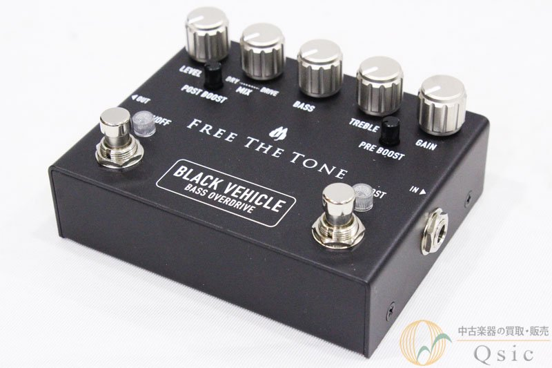 Free The Tone BLACK VEHICLE BV-1V [NH835]