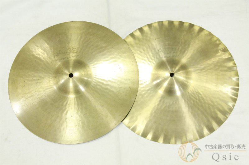 Paiste Formula 602 Sound Edge 14' Hi-Hat Top/Bottom set [NH218]