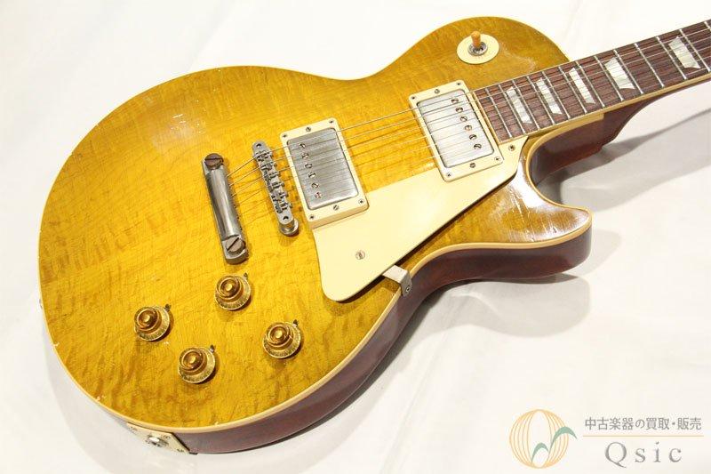 Gibson Custom Shop True Historic 1958 Les Paul Murphy Aged Green Lemon Faded 2016 【返品OK】[OH015]