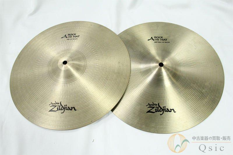 Zildjian A ROCK HIHAT 14'' set [OH162]