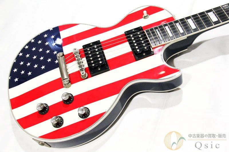Gibson Custom Shop Les Paul Custom Star & Stripe 2002年製 【返品OK】[NE680]