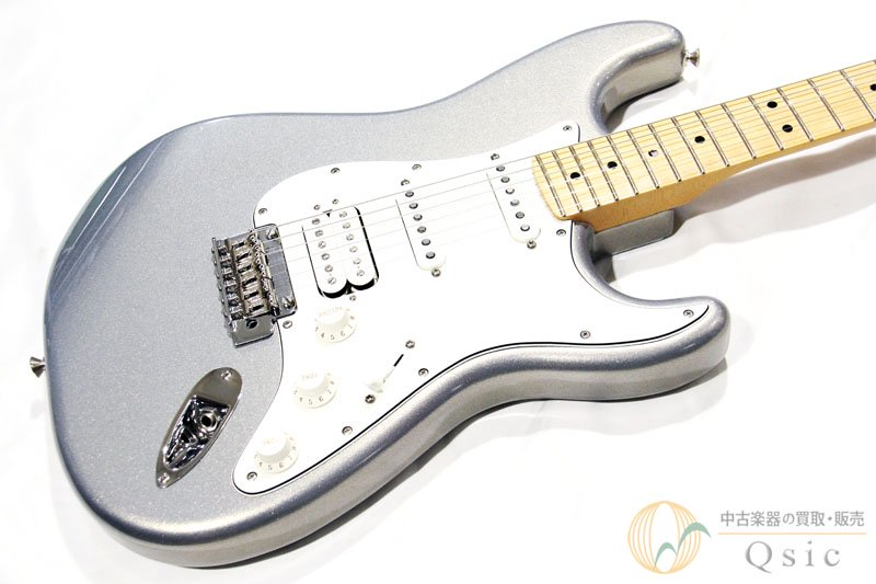 Fender Player Stratocaster HSS MN Silver 2019年製 【返品OK】[PH161]