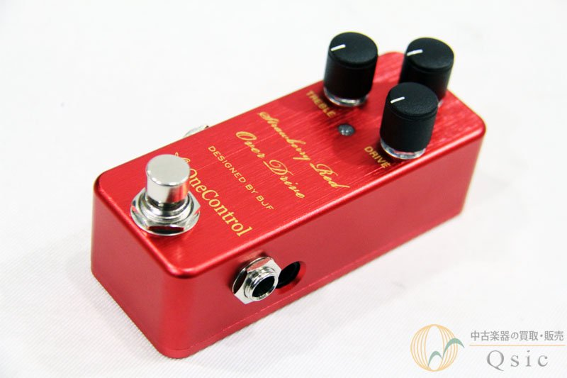 One Control Strawberry Red Overdrive [PH728]