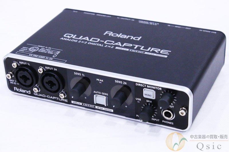 Roland QUAD-CAPTURE UA-55 2014年製 [QH458]
