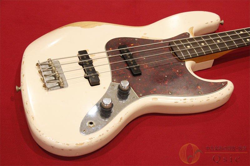 Fender Mexico Flea Jazz Bass Road Worn Shell Pink 【返品OK】[RH773]