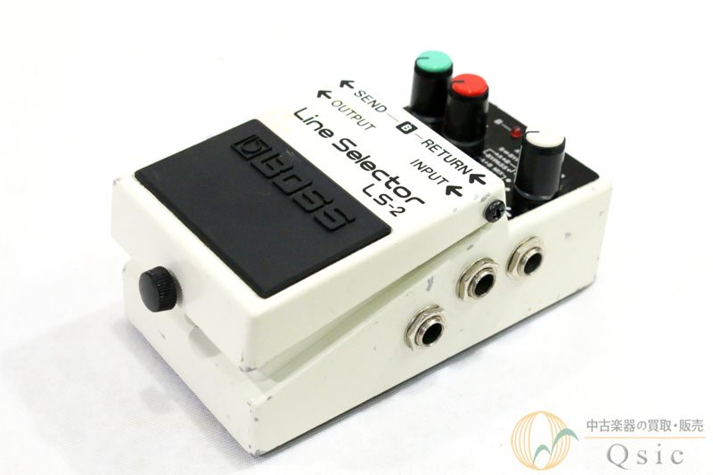 BOSS LS-2 Line Selector [UH462]●