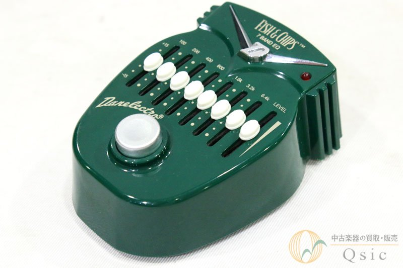 Danelectro DJ-14 Fish and Chips 7-Band EQ Pedal [UH432]