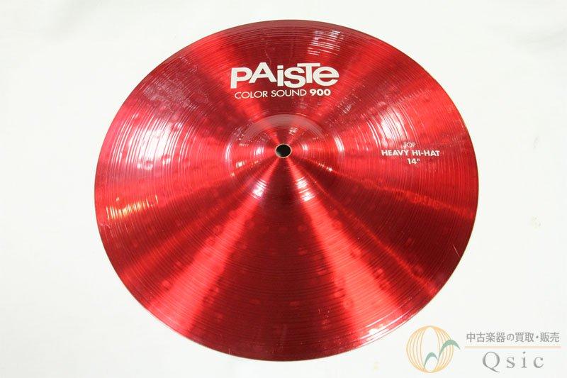 Paiste Color Sound 900 Red Heavy Hi-Hat TOP [UH711]