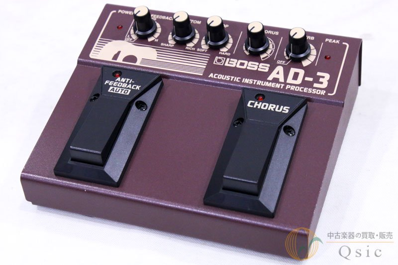 BOSS AD-3 Acoustic Instrument Processor [UH841]