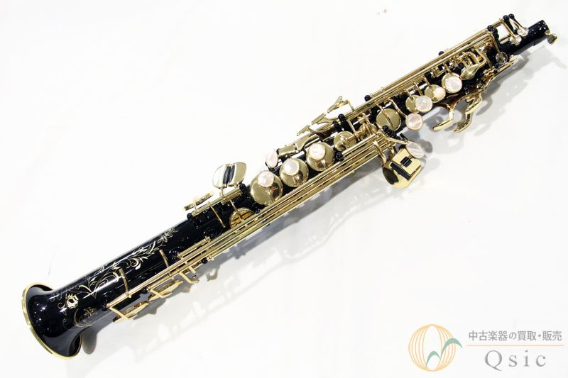 H.SELMER Serie III Jubilee Soprano Saxophone Black Lacquer  [調整済み] 【返品OK】[UH444]