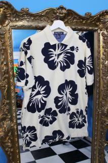 NAUTICA FLOWER POLO SHIRT(ノーティカ ポロシャツ)