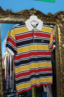 <img class='new_mark_img1' src='https://img.shop-pro.jp/img/new/icons20.gif' style='border:none;display:inline;margin:0px;padding:0px;width:auto;' />LACOSTE BORDER POLO SHIRT(ラコステ ポロシャツ)