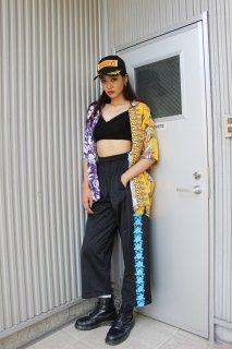 LADIES HIBISCUS NYLON PANTS(ハイビスカス パンツ)