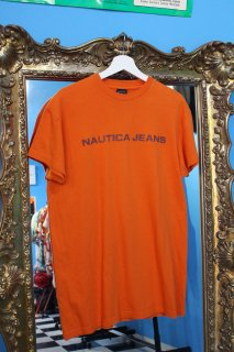 <img class='new_mark_img1' src='https://img.shop-pro.jp/img/new/icons20.gif' style='border:none;display:inline;margin:0px;padding:0px;width:auto;' />NAUTICA JEANS LOGO T-SHIRTS(ノーティカ Tシャツ)