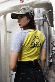 LADIES KAPPA RAGLAN T-SHIRT(カッパ ラグラン Tシャツ)
