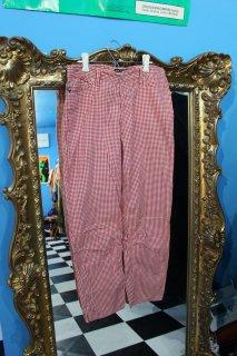 LADIES POLO JEANS GINGHAM CHECK PANTS(ポロジーンズ ギンガムチェック パンツ)