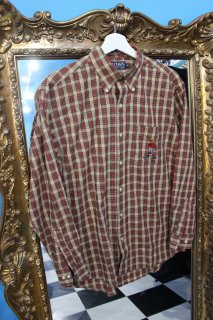 CHAPS POLO BEAR CHECK L/S SHIRT(ポロベアー 長袖シャツ)