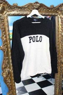 POLO BY RALPH LAUREN LOGO 2-TONE SWEATER(ポロ 2トーン セーター)