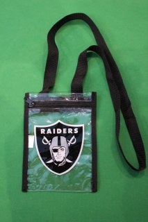 NFL OAKLAND RAIDERS CLEAR POUCH(レイダース クリア ポーチ)
