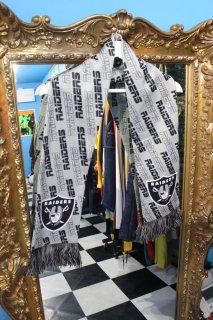 NFL OAKLAND RAIDERS MUFFLER(アメフト オークランド レイダース マフラー)