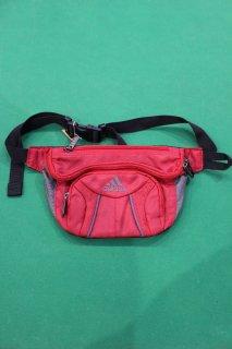 ADIDAS WAIST BAG RED(アディダス ウエスト バッグ)