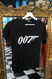 LADIES 007 OFFICIAL T-SHIRT(映画 007 オフィシャル Tシャツ)