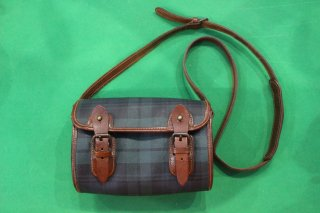 POLO RALPH LAUREN CHECK POUCH GRN/NV(ポロ ラルフ チェック ポーチ)