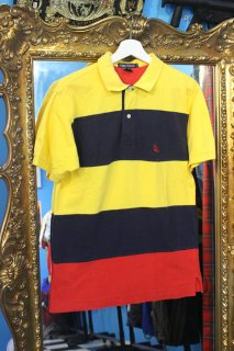<img class='new_mark_img1' src='https://img.shop-pro.jp/img/new/icons20.gif' style='border:none;display:inline;margin:0px;padding:0px;width:auto;' />NAUTICA BORDER POLO SHIRT(ノーティカ ポロシャツ)