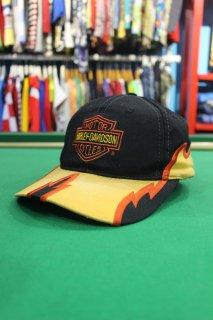 HARLEY DAVIDSON FIRE PATTERN CAP(ハーレー・ダヴィッドソン ファイヤー キャップ)