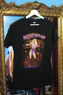 LADIES BRITNEY SPEARS 2008 TOUR T-SHIRT(ブリトニー・スピアーズ ツアー Tシャツ)