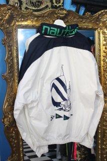 NAUTICA NYLON SPINNAKER LOGO JACKET(ノーティカ ナイロン ロゴ ジャケット)