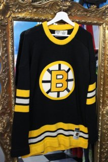 NHL BOSTON BRUINS HOCKEY SWEATER(NHL ボストン ブルーインズ ホッケー セーター)