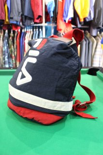 <img class='new_mark_img1' src='https://img.shop-pro.jp/img/new/icons38.gif' style='border:none;display:inline;margin:0px;padding:0px;width:auto;' />FILA NYLON BAG PACK(フィラ ナイロン バッグパック)
