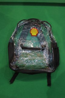 SHELL CLEAR BAG PACK(シェル クリア バッグ パック)