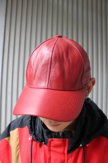COLOR LEATHER CAP(カラー レザー キャップ)