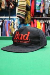 BUDWEISER COTTON B.B CAP BK(バドワイザー コットン B・B キャップ)