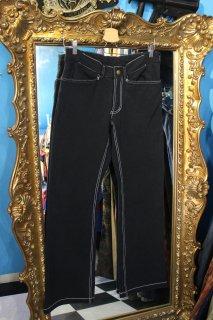 ADIDAS BLACK SWEAT SKINNY PANTS(アディダス ブラック スウェット スキニー パンツ)