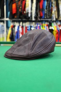 <img class='new_mark_img1' src='https://img.shop-pro.jp/img/new/icons20.gif' style='border:none;display:inline;margin:0px;padding:0px;width:auto;' />LEATHER HUNTING CAP(レザー ハンチングキャップ)
