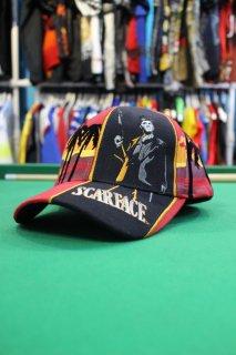 SCARFACE TONY MONTANA CAP RED(スカーフェイス キャップ)