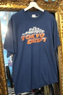THE FAST&THE FURIOUS T-SHIRT(ワイスピ T シャツ)