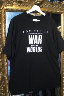 WAR OF THE WORLD OFFICIAL T-SHIRT(映画 宇宙戦争 Tシャツ)