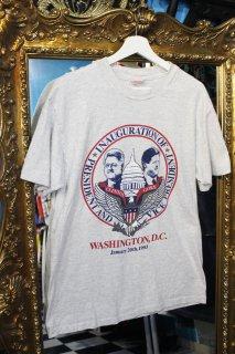 PRESIDENT AND VICE PRESIDENT T-SHIRT(クリントン大統領&ゴア副大統領 Tシャツ)