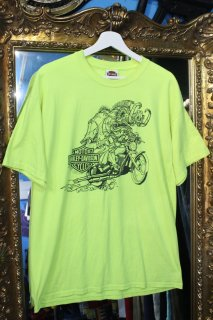 HARLEY DAVIDSON NEON COLOR T-SHIRT(ハーレー・ダヴィッドソン Tシャツ)