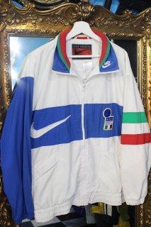 90's NIKE SOCCER ITALY NYLON TRACK JACKET(ナイキ サッカー イタリア代表 ナイロン  トラック ジャケット)