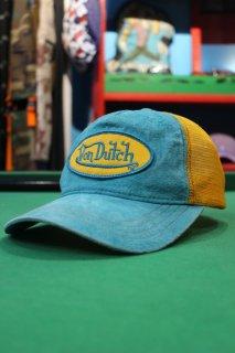 VON DUTCH SUEDE/MESH CAP(ボン・ダッチ スエード/メッシュ キャップ)