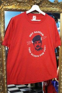 HEY SADDAM T-SHIRT(サダム・フセイン Tシャツ)