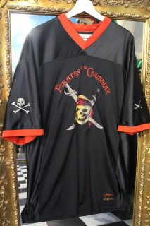 PIRATES OF THE CARIBBEAN GAME SHIRT(パイレーツ・オブ・カリビアン ゲームシャツ)