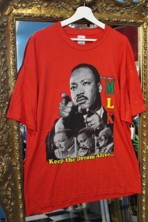 MARTIN LUTHER KING,Jr T-SHIRT(キング牧師 Tシャツ)