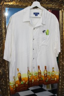 TEQUILA RAYON S/S OPEN SHIRT(テキーラ柄 レーヨン 開襟シャツ)